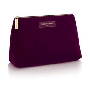 Dolce & Gabbana Beauty Cosmetic Zippered Pouch